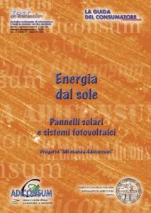 ADICONS energia dal sole